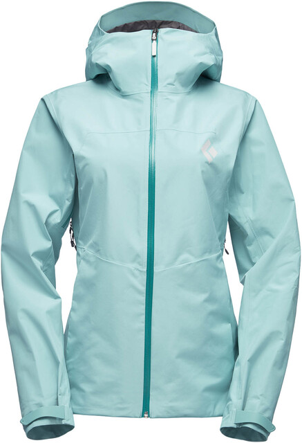 Black Diamond Liquid Point Shell Jacket Women alpine lake
